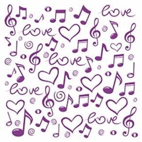 papel-de-parede-adesivo-roxo-quarto-teen-notas-romanticas