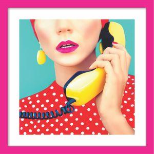 QUADRO-DECORATIVO-RETRO-QUARTO-DE-SOLTEIRO-TELEFONISTA