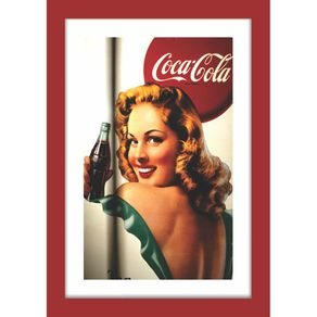 QUADRO-DECORATIVO-RETRO-ANOS-60-PIN-UP-SALA-DE-JANTAR-COCA-COLA