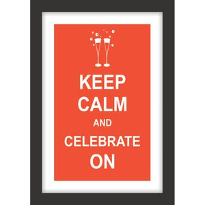 QUADRO-DECORATIVO-RETRO-SALA-DE-JANTAR-KEEP-CALM-CELEBRATE