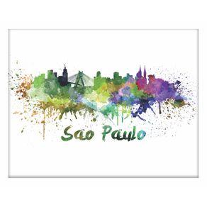 QUADRO-DECORATIVO-RETRO-HALL-SAO-PAULO-AQUARELA