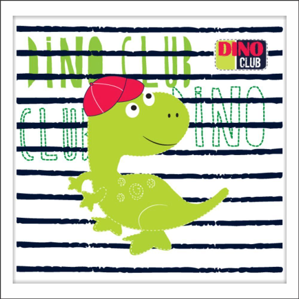 af565f189 Quadro Infantil Dinossauro - apliquefacil