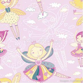 gy308_papel-de-parede-adesivo-infantil-bailarina