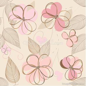 gy304_papel-de-parede-adesivo-infantil-flores