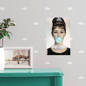 Quadro-Decorativo-Audrey-Hepburn-Chiclete