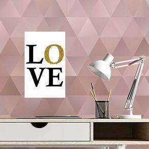 Quadro-Decorativo-Love-Gold