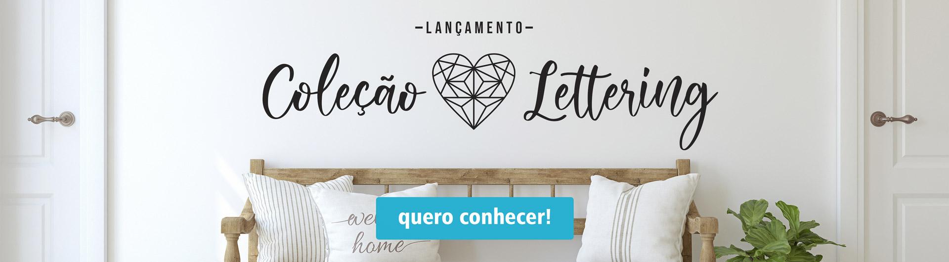 Coleção Lettering